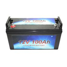 Large capacity deep cycle 12v lithium ion battery 100ah 200ah for solar home with long life