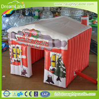 2016 inflatable santas grotto bouncer, inflatable christmas bouncer, inflatable christmas bounce house