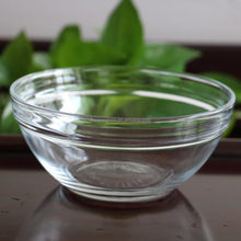 How Sales 5pcs Glass Bowl With Plastic Cover