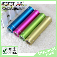 2015 well design factory price cylinder mini mobile power bank