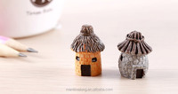 Resin thatched cottage moss meaty micro Landscape Ecology bottle DIY resin ornaments