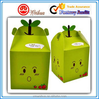 Superior Quality cute carton designed Recycled cardboard packaging cupcake box