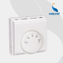 SAIP/SAIPWELL Hot Sales Intelligent Mini Blue Backlight Room Thermostat