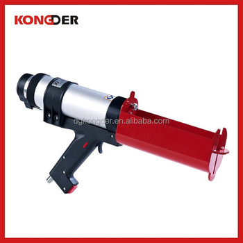 New design 490ml pneumatic caulking gun