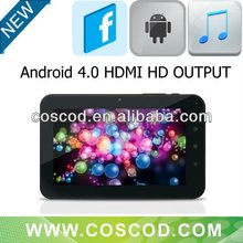 7 inch Capacitive Touch Screen mid a10 Tablet HDMI 512MB/4GB/8GB/16GB