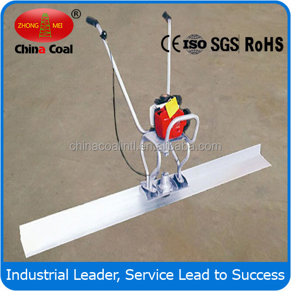 vibratory floor finishing machine vibrating laser concrete screed