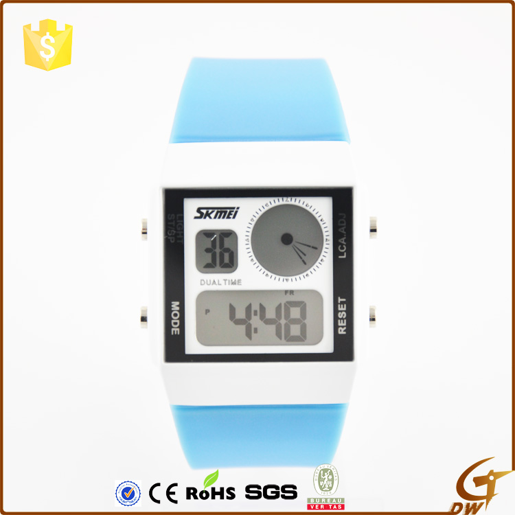 Wholesale branded OEM ODM Sport Calorie Health Silicone digital sport watch
