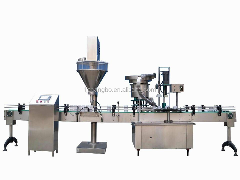 Food powder filling machine/screw powder packing machine/auger screw filling machine