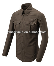 New style men's cheap breathable outer wear quick-dry shirt hiking camping shirts for men