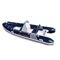 15 ft China RIB Fiberglass Inflatable Boat Military RIB Boats for Sale 4.7m With Aluminum Floor