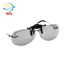 Free sample custom printing available 3d glasses clip on imax 3d glasses