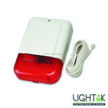 LARGE ALARM BELL BOX with 130 dB SIREN and LED FLASH Tamper Resistant SECURITY ALARM SYSTEM LD-282