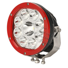 7 Inch Round 90w LED Driving Lights IP 68 / LED working Light for JEEP with CE /ROHS