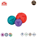 Squeaker easy to throw dog toys 4 inch plastic balls