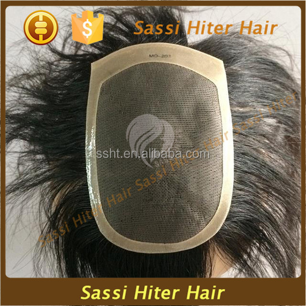 China Supplier Hair Piece Toupee for Black Men