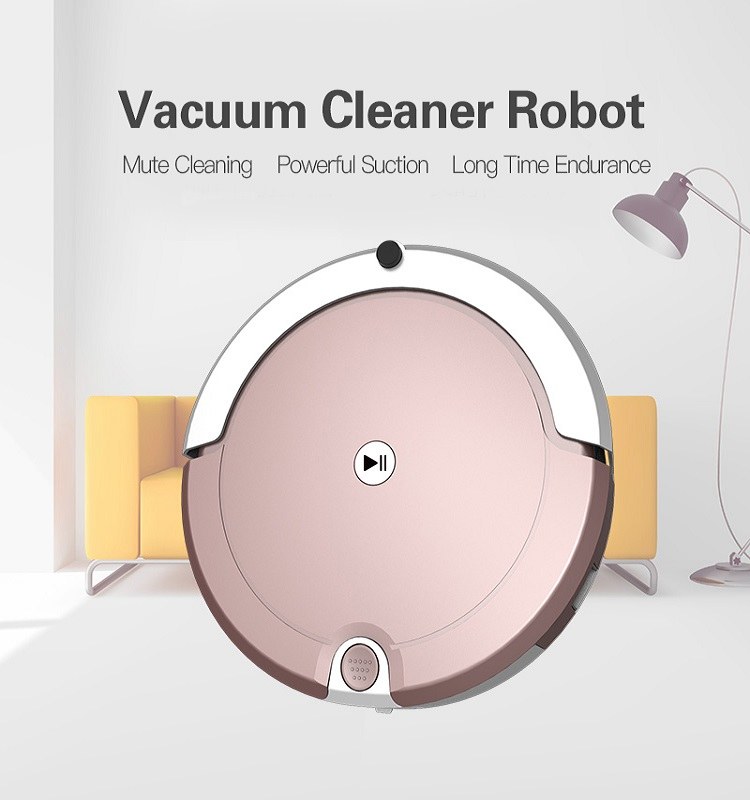 Fashion design Vacuum cleaner robot kit Automatic charge kitchen cleaning remote control sensor robot cleaner robot vacuum