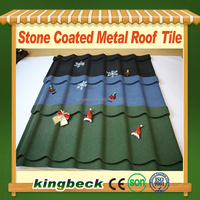 Waterproofing Kingbeck Wood Type Roofing Material Colored Stone Tiles