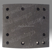 trucks spare parts drum brake shoe lining manufacture for sale