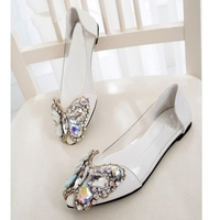 Queena Butterfly Shoe DIY Rhinestone Accessories