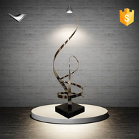 famous abstract stainless steel sculpture for sale