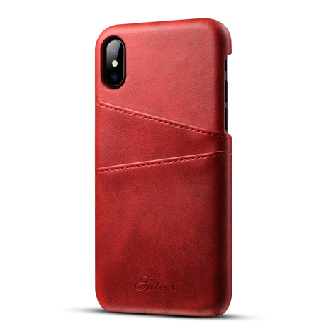 Leather Case with Card Slot For iPhone X /7/8 Case Phone <strong>Cover</strong>