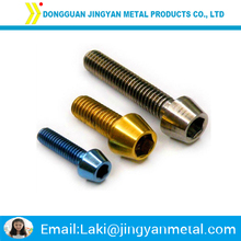 aluminium anodized button head screw