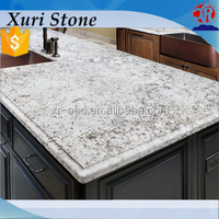 Polished white granite, white and brown marble, aran white kitchen granite counter top