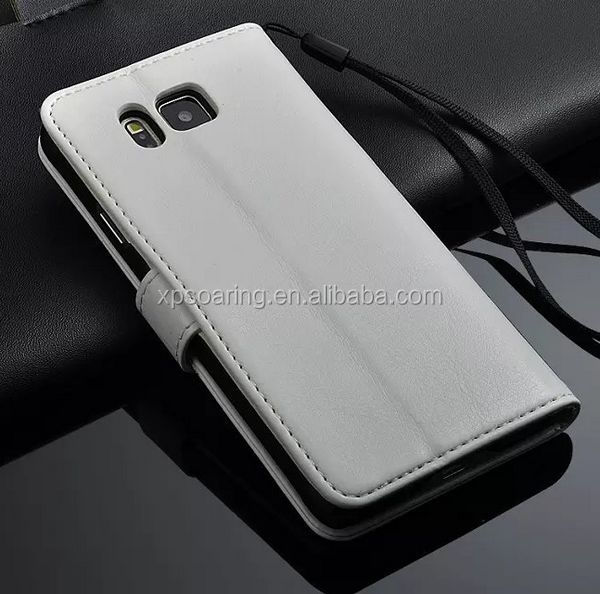 high quality leather case for Samsung Galaxy Alpha G8508S