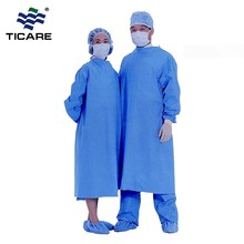 Non-Woven Material Cheap Disposable Medical Sterile Chemotherapy Surgical Gown
