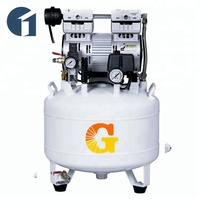 CE Approved Silent Low Noise Oil Free Medical Dental Air Compressor
