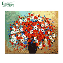 Modern Diy Painting Kit Beautiful Oil Painting Pictures Of Flowers