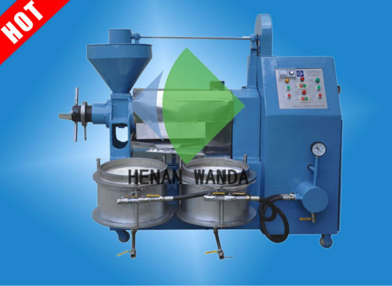 Home edition oil extraction machine with filtering system