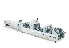 ZH-880PFT-H High Speed Auto Folder Gluer Machine with New design and appearance