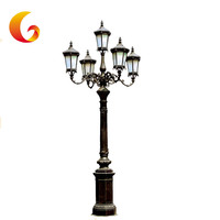 Antique Style Street Lights With 1