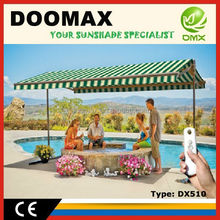 #DX510 High Quality Residential Auto Awnings