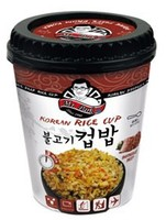 [Mr.Park] Korean Instant Cup Rice-Barbecue Beef-4 min.