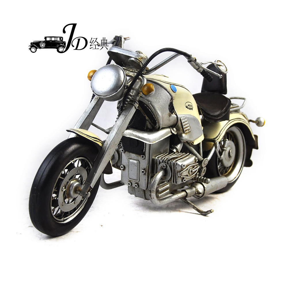 Wholesale Iron Metal Motorcycle Model 1:8 Scale JLM1893-W