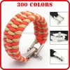 wholesale stainless steel jewelry buckle bracelet bangles /parachord bracelets