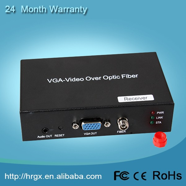 Offer OEM/ODM 1 Channel VGA Video & Audio Single Fiber 2 km (Multimode) 20 km vga to tv converter cables