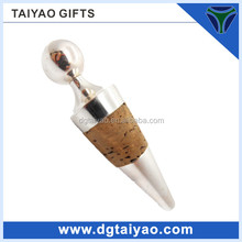 2014 Simple type Silver plated Alloy Metal Bottle stopper for gifts