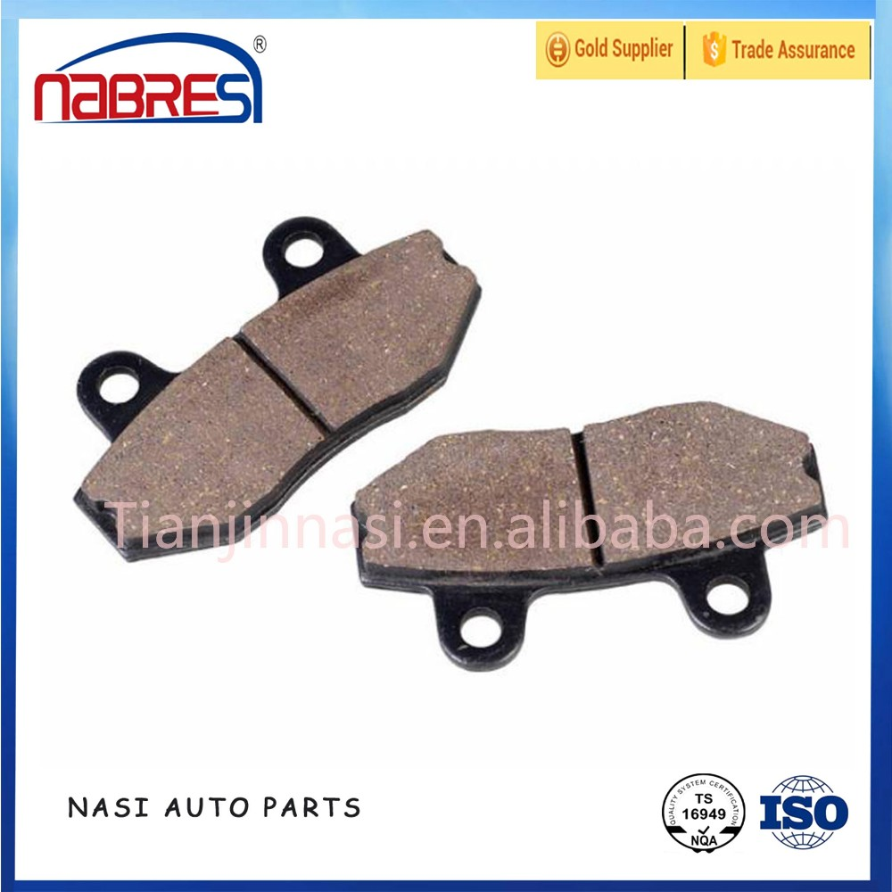 Hi-q haojue parts motorcycle brake pad for haojue