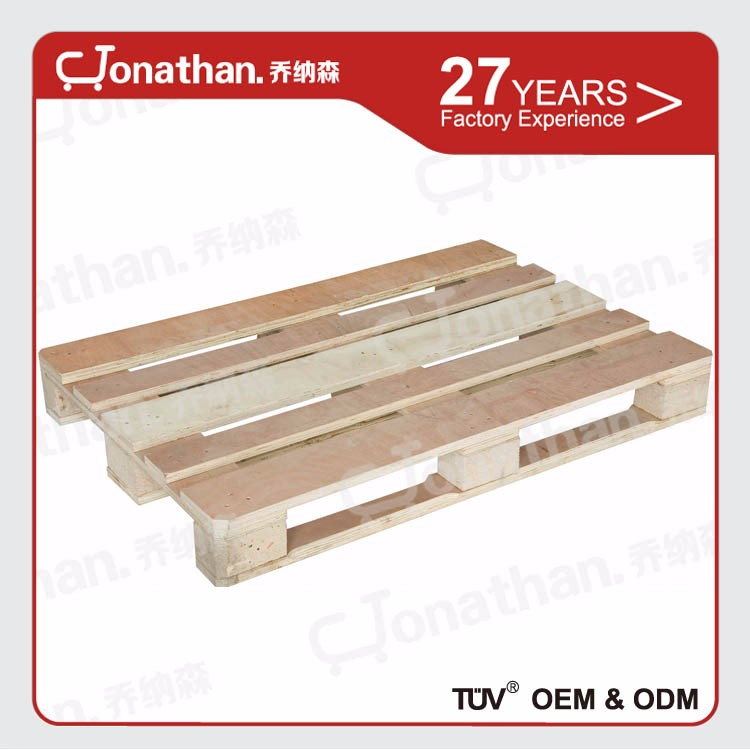 Size available durable material heavy duty warehouse wooden pallet