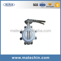 Wholesale Dn150 Dc24v Discount Small Electric Actuator Butterfly Valve