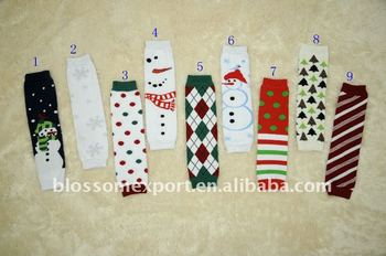 Fashion christmas baby leg warmer