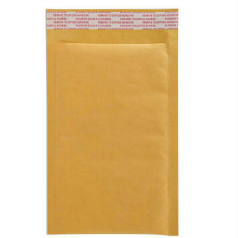 Gold Yellow Kraft Paper Mailing Envelope Shock Proof Bubble Padded Kraft Mailing Bag Bubble Padded Envelope