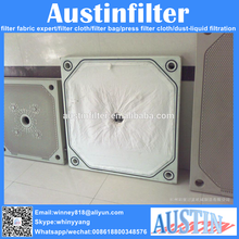 liquid filter usage PP/PE belt filter press cloth for liquid press filtration