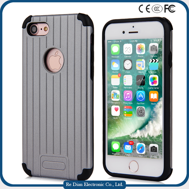 Two-in-one anti gravity other mobile phone accessories telephone case for iphone 7