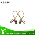 USB 2.0 to Micro USB Cable Braided, Quick Charge and High Speed Data Sync for Android Smartphone,