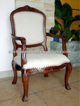 American classical wooden armchair/restaurant chair/cafe chair CH-YZ-321