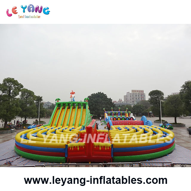 45M 5K Extreme rush Obstacle Course, Inflatable Obstacle Race for Rentals